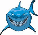 Blue Sharks Cartoon