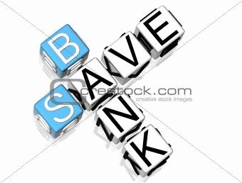 Save Bank Crossword