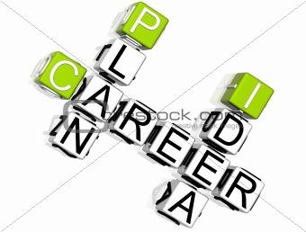 Career Plan Idea Crossword