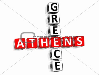 Athens Greece Crossword