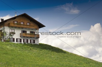 Rustical wooden House