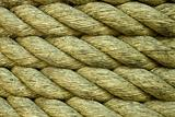 Closeup of a rope as background