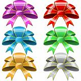 Six bows