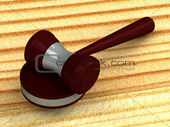 3d judge gavel