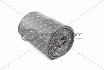 folded necktie