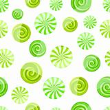 green mint striped candy seamless pattern