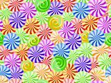 vivid striped candy seamless pattern