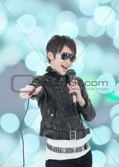 asian rock star