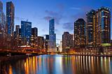 Chicago riverside
