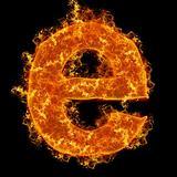 Fire small letter E
