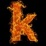 Fire small letter K