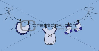 Boy Clothes Line