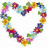 Decorative valentine frame