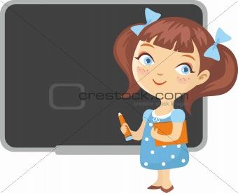 small schoolgirl