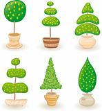 Garden Trees - set 1