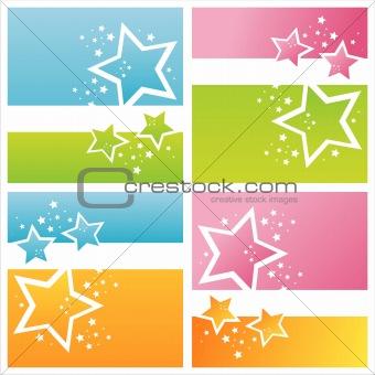 modern stars backgrounds