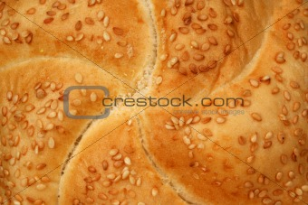 Fresh bakery roll