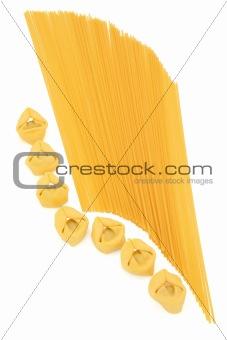 Tortellini and Spaghetti Pasta