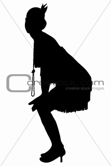 1920 silhouette