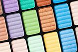Part of the colorful palette
