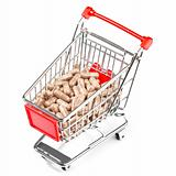 Carts filled with pills