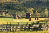 Landscape in Bucovina,Romania
