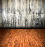 old grunge background, vintage interior