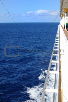 Cruise Ship View