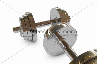 3d Dumbbell weight