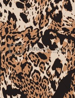 animal skin fabric textile background
