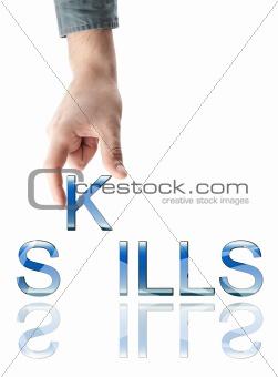 Skills word