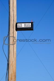 Air Mail Mailbox