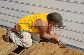 Carpenter Hammering