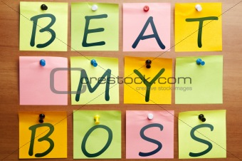 Beat my boss