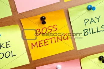 Boss meeting