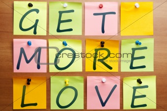 Get more love