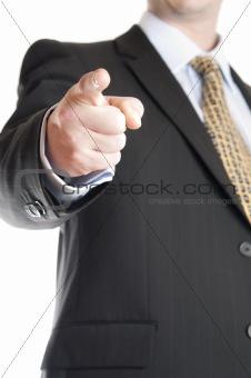 Business man bust