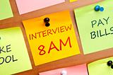 Interview 8am