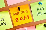 Meeting 8 AM