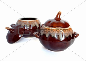 Ceramic pots for cooking