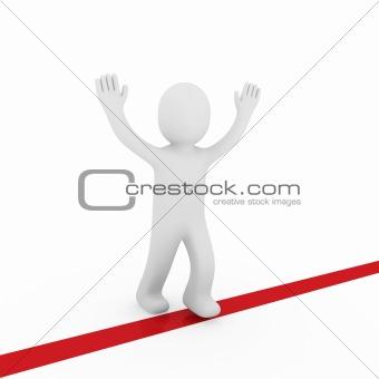 3d human winner target