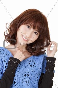 Beautiful woman of Asian