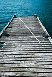 Old fishing dock