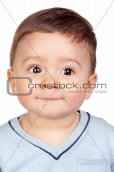 Beautiful baby with nice eyes