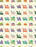 seamless tortoise pattern
