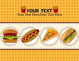 fast food card