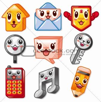 cartoon web icon