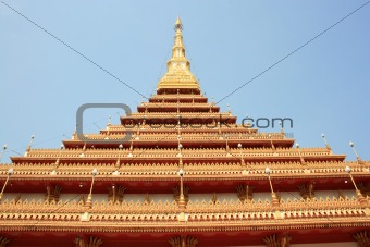 pagoda in temple