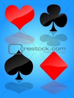 Card symbol set