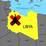 Prohibition of flights over Libya